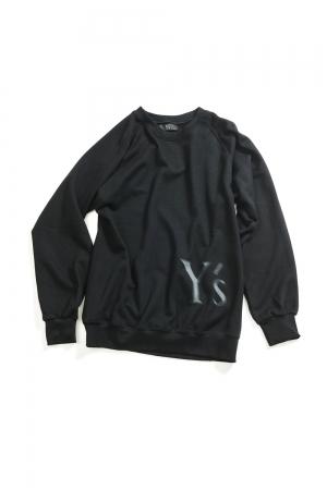 Y's Logo Pullover Sweatshirts Black