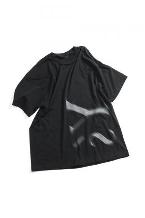 Y's Logo T-shirt Black
