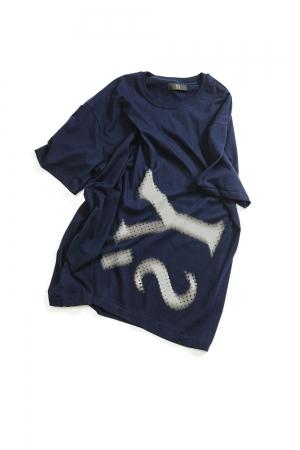 Y's Logo T-shirt Navy