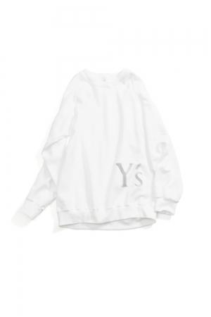 Y's Logo Pullover Sweatshirts White
