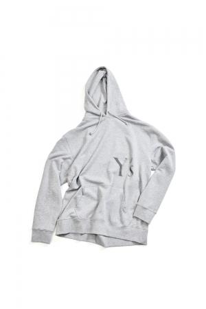 Y's Logo Hoodie Gray