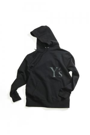 Y's Logo Hoodie Black