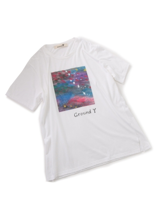 Groound Y × Mai Fukagawa T-shirt Collection_「夢の中」WHITE