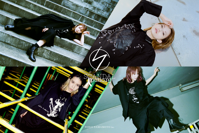 "Ground Y × SCANDAL Collection ""Message""_main"