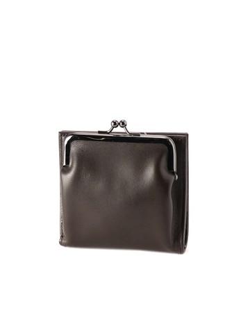 Clasp wallet Brown