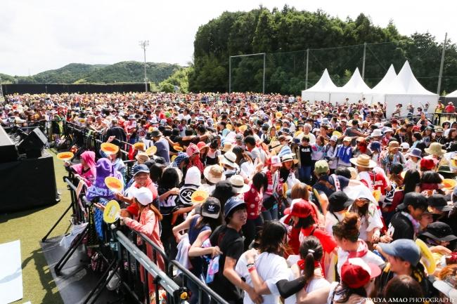 宗像フェス2017ライブ会場