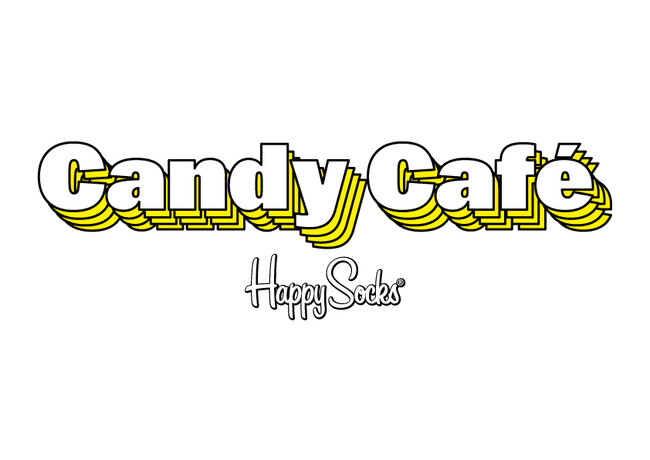 「Happy Socks Candy Cafe」ロゴ