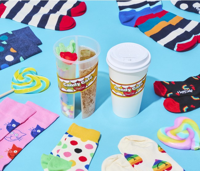 「Happy Socks Candy Cafe」商品イメージ