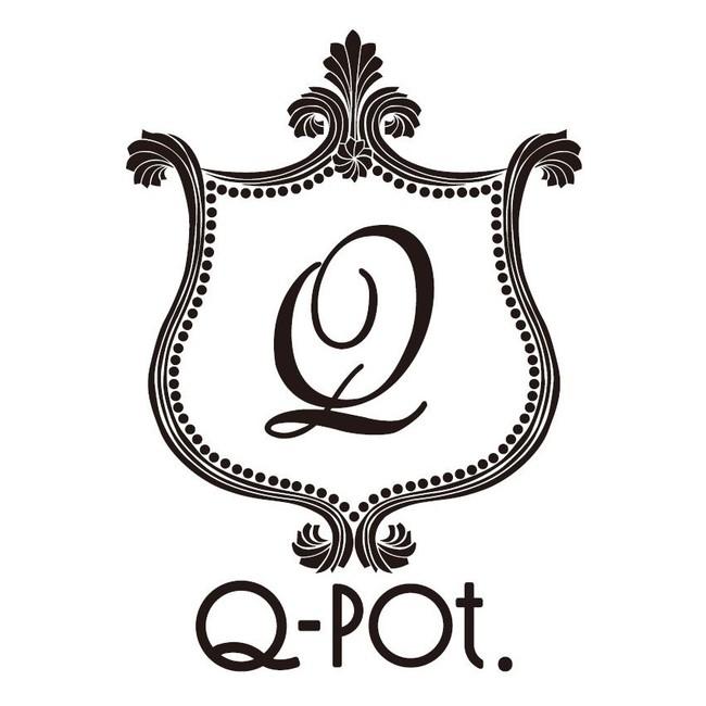 「Q-pot.」ロゴ