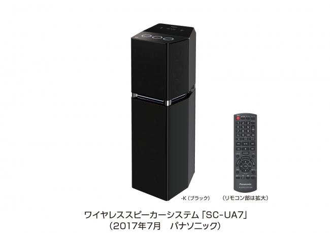ワイヤレススピーカーシステム「SC-UA7」