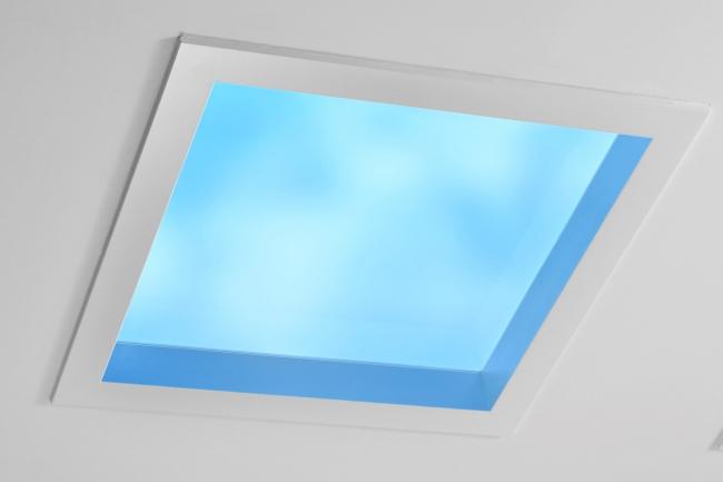 空間演出システム「天窓照明」
