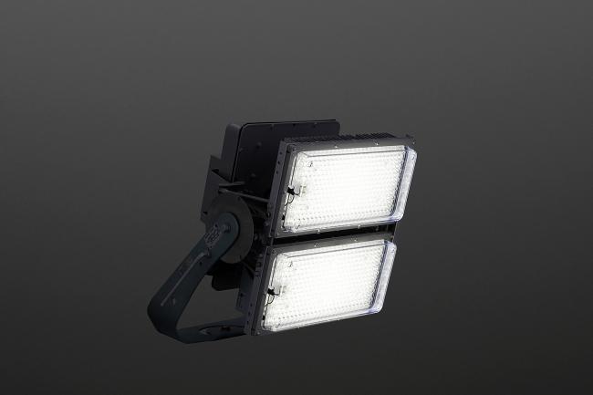 新型LED投光器「グラウンドビーム」