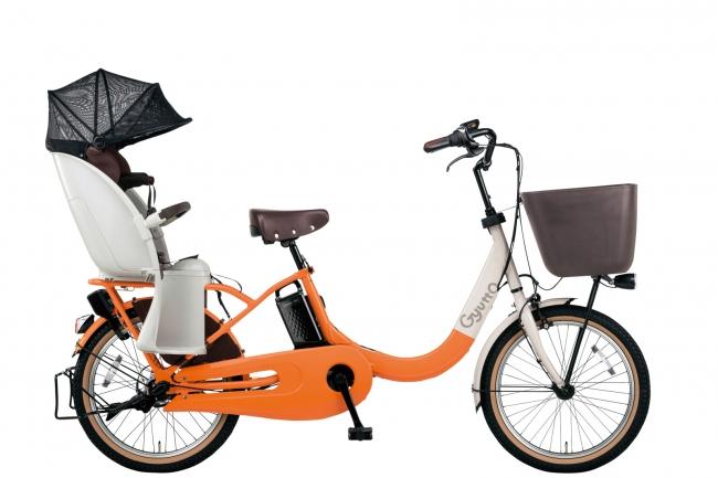子乗せ電動アシスト自転車「ギュット・クルームR・EX」BE-ELRE03