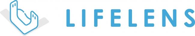 「ライフレンズ」ロゴ