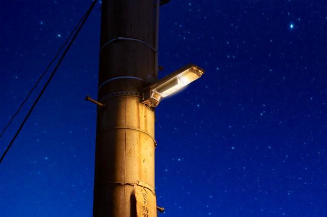 「星空に優しい照明(IDA認証防犯灯)」