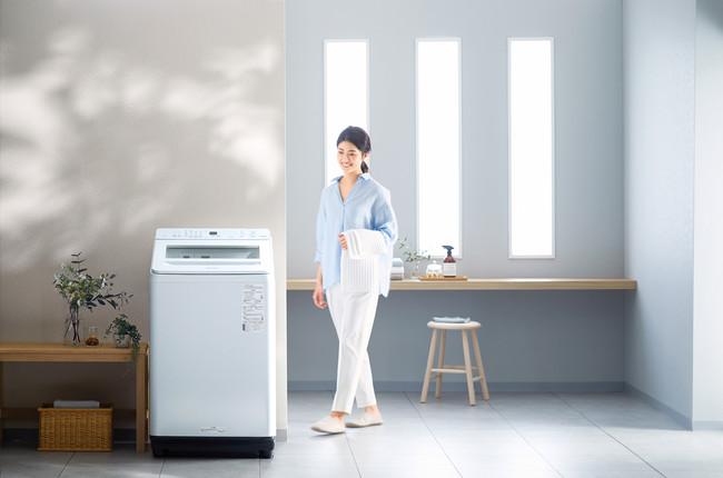 全自動洗濯機 使用イメージ