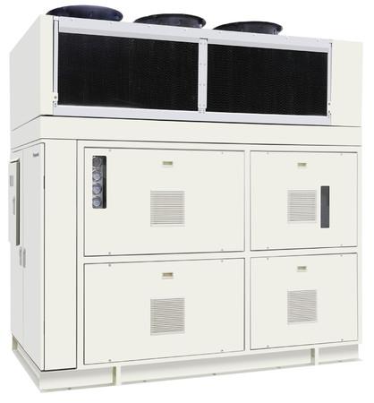 CO2冷媒採用ノンフロン冷凍機