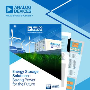 マウザー、アナログ・デバイセズ社と共同で、重要性の高まる蓄電 ...