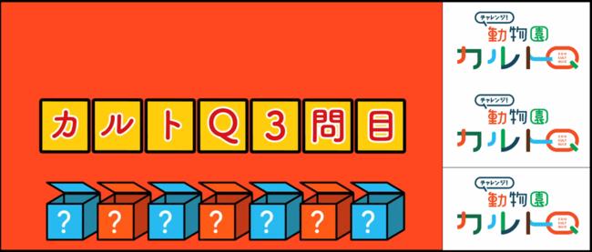 クイズは全部で3問。内容は見てのお楽しみっ!