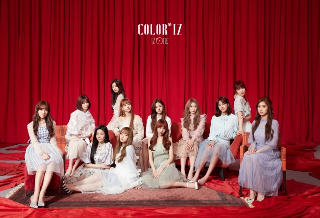 IZ*ONE © CJ ENM Co., Ltd, All Rights Reserved