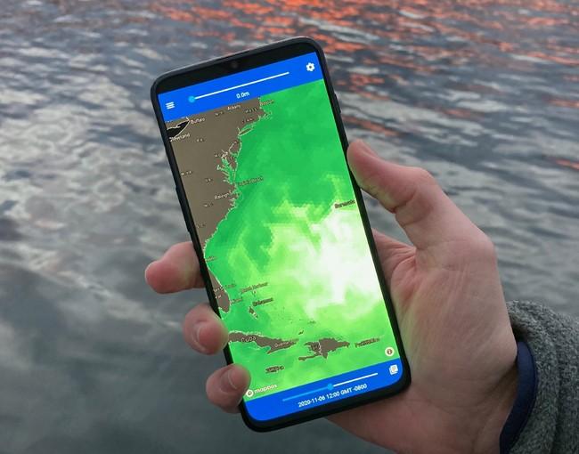 UMITRON PULSEは、クロロフィル濃度など、魚類、甲殻類、海藻類の養殖事業者にとって重要かつ入手困難だった海洋データを提供しています。