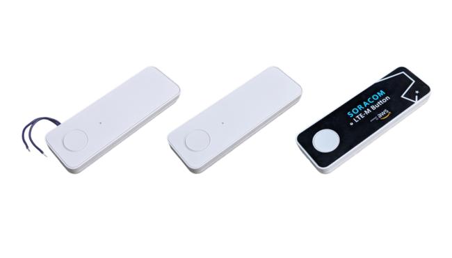 設置するだけで使えるI SORACOM LTE-M Buttonシリーズ