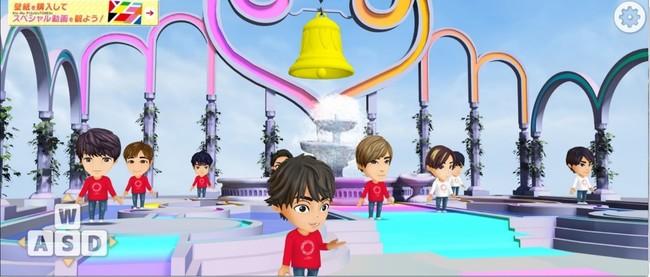 「Kis-My-Ft2」のメンバー(赤い服)