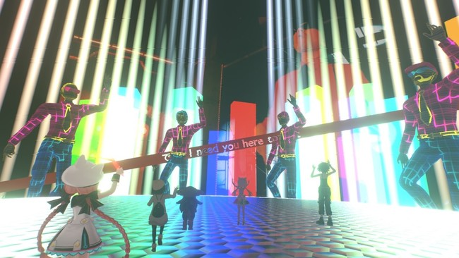 PKCZⓇは、ブースの他にも「VR ChamberZ」と呼ばれるライブ体験会場(DJセット)を制作。