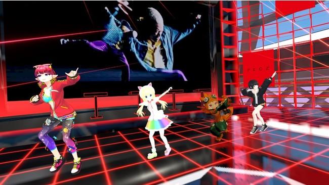 PKCZ®ブースでは一般参加者もランニングマンやChoo Choo TRAINのモーションを踊ることができる