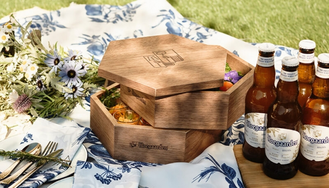 都会で楽しむ、ワンランク上のピクニックHoegaarden THE GAARDEN 開催