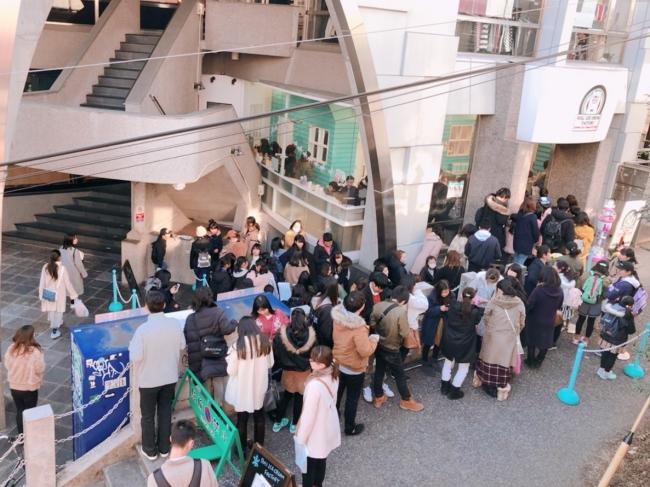 2019年1月4日原宿・表参道店の行列