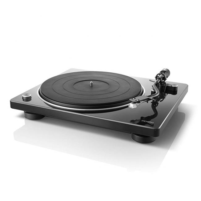 DENON レコードプレーヤー DP-400-BKEM