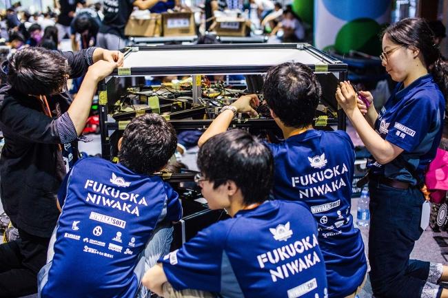 初参戦で大健闘 FUKUOKA NIWAKAチーム