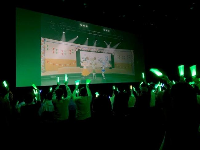 109シネマズ川崎で実施したライブ画像(写真:あにまーれ)