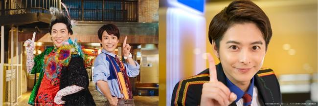 左:横山だいすけ&花田ゆういちろう/右:小池徹平