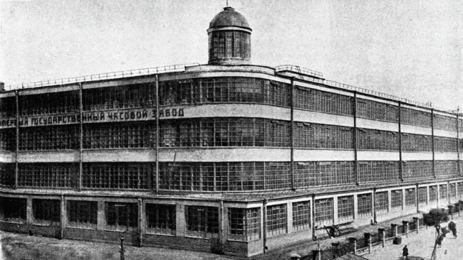 モスクワ第一時計工場