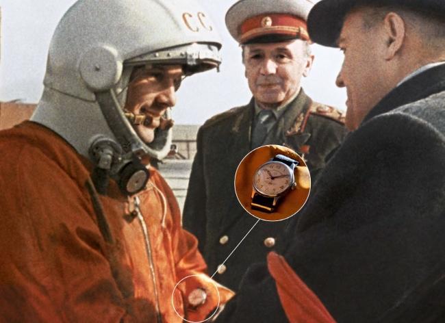1961年ガガーリンとシュトゥルマンスキー