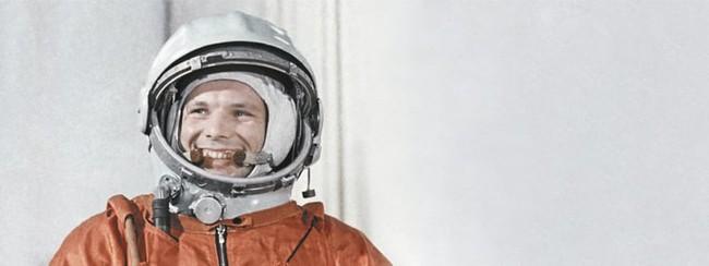 人類史上初の宇宙飛行士ユーリィ・ガガーリン
