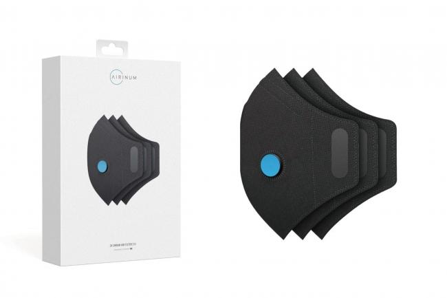 商品名:URBAN AIR FILTER 2.0 3PACK(アーバンエアフィルター2.0 3パック)価格 2,000円(税抜) 1色展開 サイズ:S~L セット内容:URBAN AIR MASK 2.0用 交換フィルター3枚