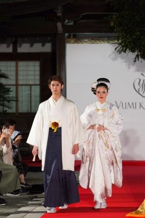 2018年10月21日 福岡県 宮地嶽神社で開催のユミカツラショーの模様