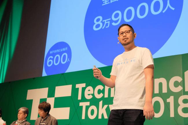 TechCrunch Tokyo 2018 株式会社KURASERU代表取締役 川原によるプレゼンテーション