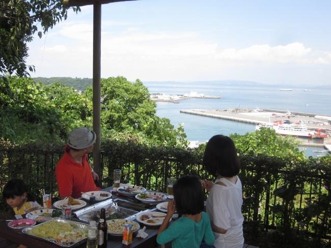 横須賀市くりはま花の国 天空BBQ
