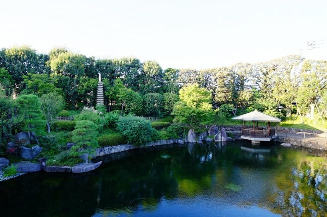 都会の小さなオアシス空間(豊島区立目白庭園)