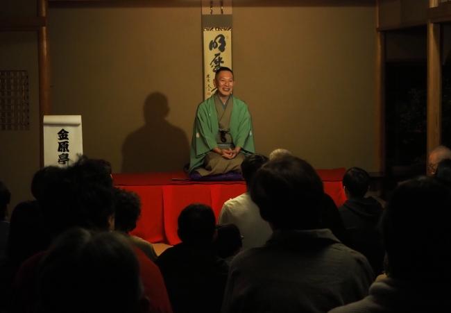 金原亭馬遊師匠、金原亭龍馬師匠をお招きして開催する「落語に親しむ会」