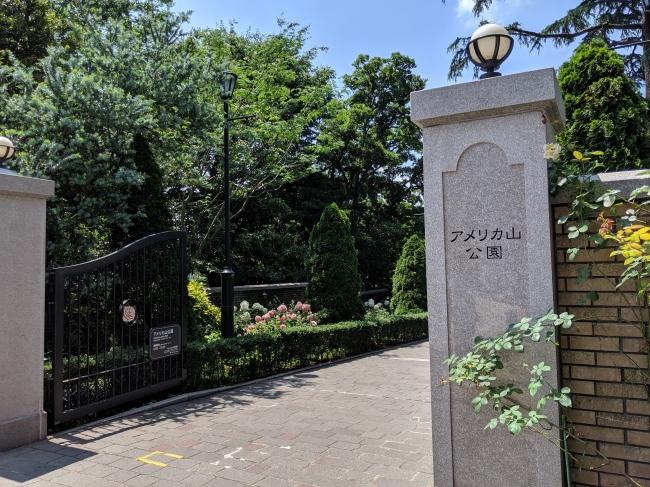 スタート地点:横浜市アメリカ山公園