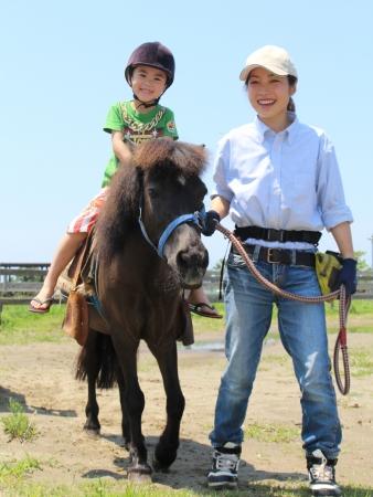 乗馬体験(横須賀市長井海の手公園 ソレイユの丘)