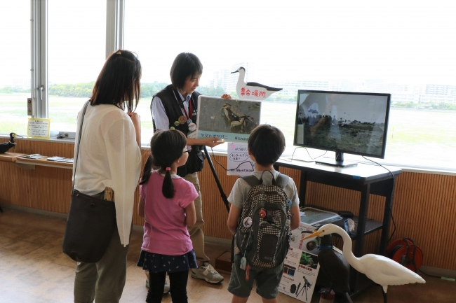 レンジャーによる案内プログラム等も開催