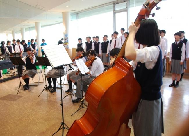 千葉県立津田沼高等学校合唱部、オーケストラ部
