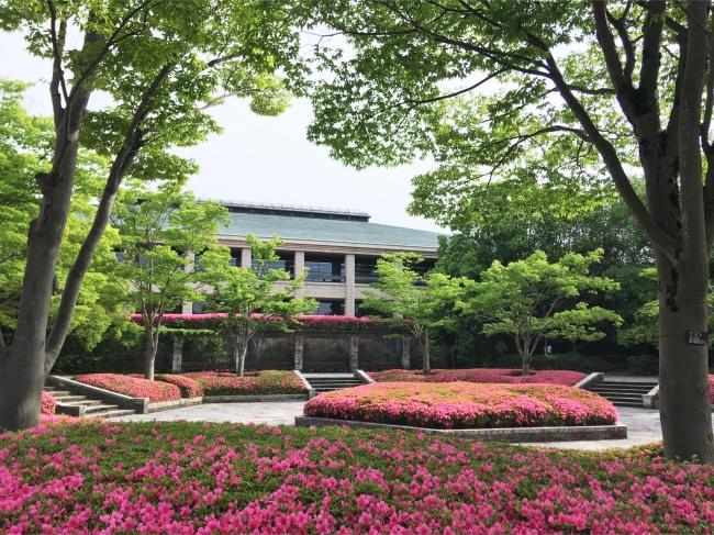 六角広場(滋賀県営都市公園びわこ文化公園)