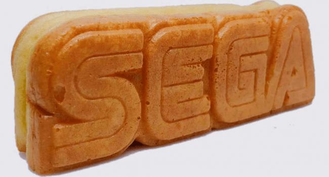 ▲セガロゴ焼き